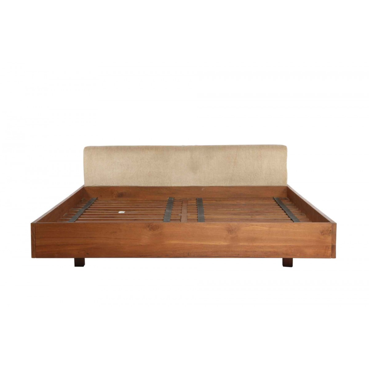 Coco King Size Teak Wood Bed Price In India Buy Coco King Size Teak Wood Bed Online Vyom Design