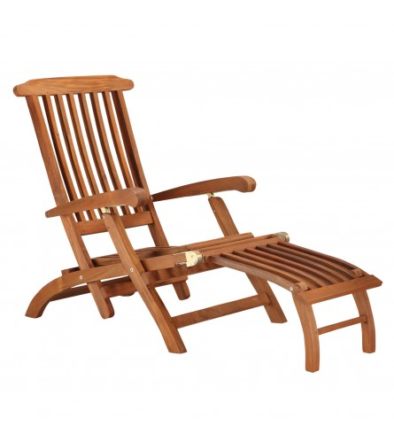 Deck Recliner - Teakwood
