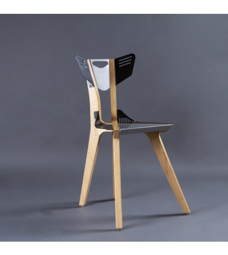 Air Solid Wood / Metal Chair
