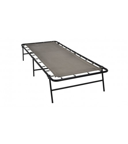 Camp Bed Single Size Foldable Metal Bed