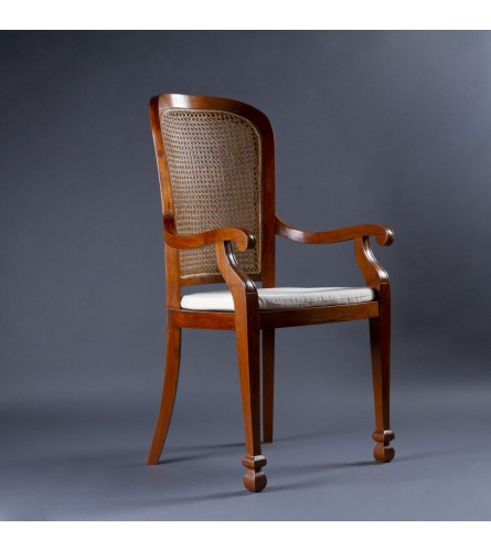 High Back Chair - Teak Wood