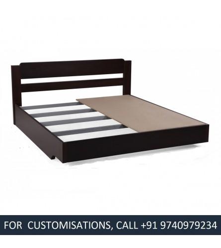 Velcro Queen Size Wood Bed
