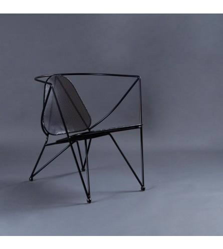 Star Metal Chair - Seat, Backrest & Frame / Legs In Metal