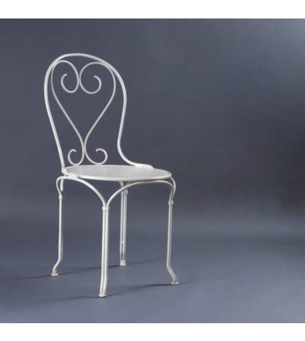Flora Metal Chair - Seat, Backrest & Frame / Legs In Metal