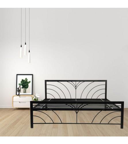 Fleur King Size Metal Bed