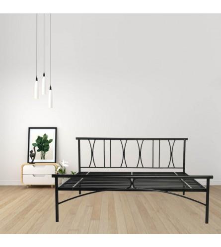 X Queen Size Metal Bed