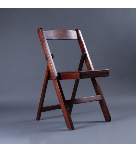 Theatre Wood Chair - Seat, Backrest & Frame / Legs In Teak Wood