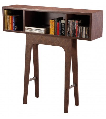 Standalone Shelf - MDF & Leather Laminate