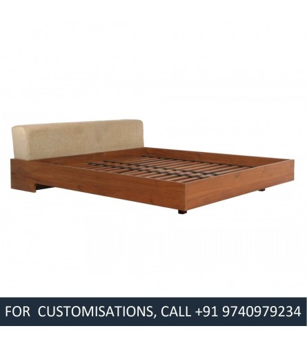 Coco King Size Teak Wood Bed