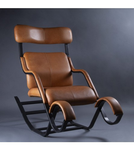 DJ Rocking Chair - Leather
