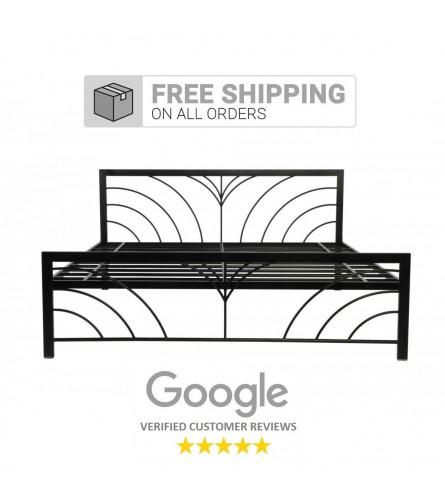 Fleur Queen Size Metal Bed