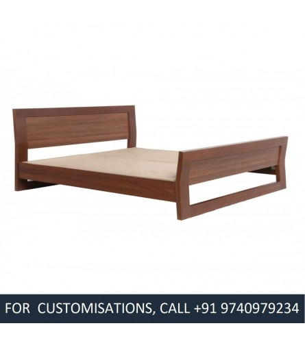 Michelle King Size Beech Wood Bed