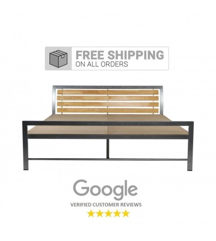 Rave Queen Size Metal Bed