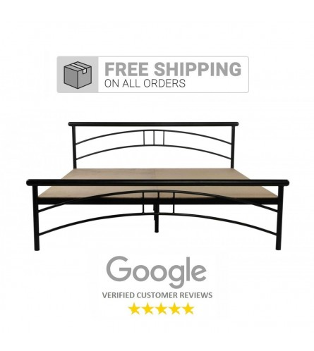Tweak King Size Metal Bed With 15mm Particle Board
