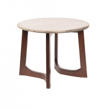 Rhonda Side Table - Granite