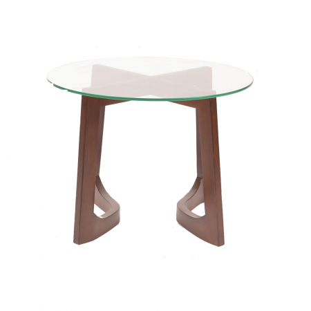 Rhonda Side Table - Glass