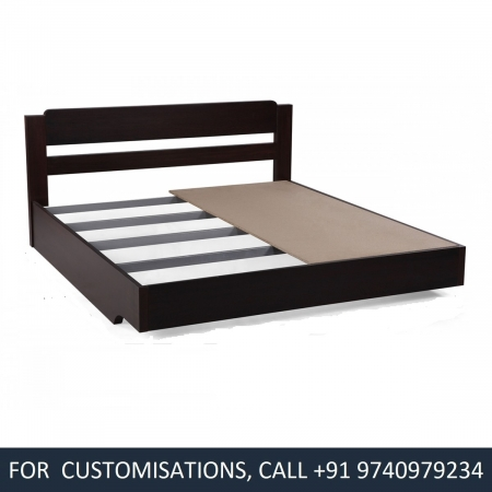 Velcro King Size Wenge Wood Bed