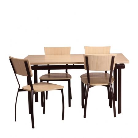Maraiah Dining Set - Veneer
