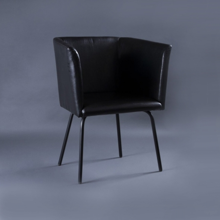 Compact Arm Chair - Metal