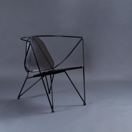 Star Metal Chair - Seat, Backrest & Frame / Legs In Metal
