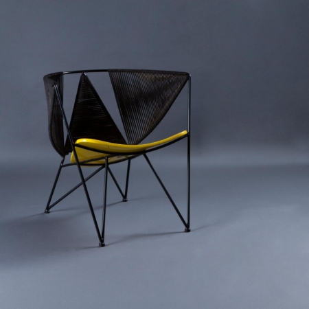 Star Chair - Yellow