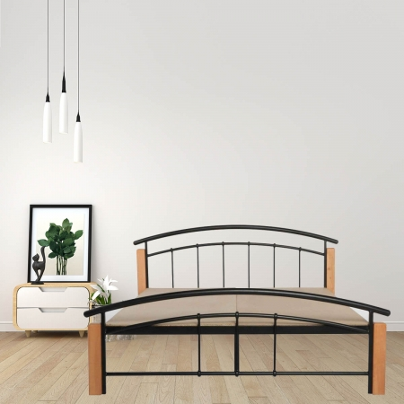 Clover Metal Queen Size Bed With 15mm Particle Board