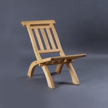 Folding Chair - Rubberwood