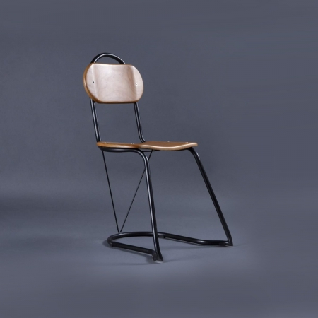 U-Nest Metal / Solid Wood Chair