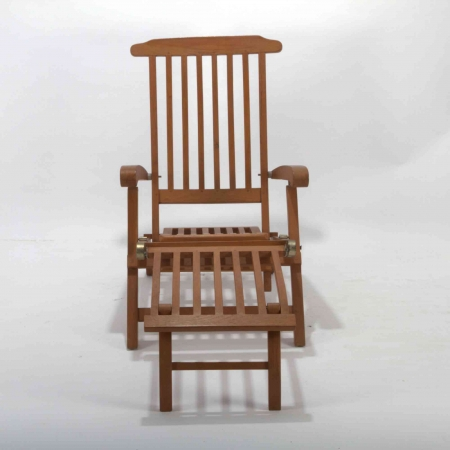 Sun Lounger - Teak Wood