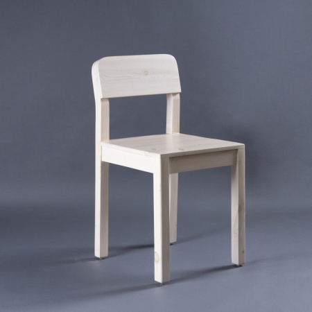 Sven Wood Chair - Seat, Backrest & Frame / Legs In Solid Wood (Natural Finish)