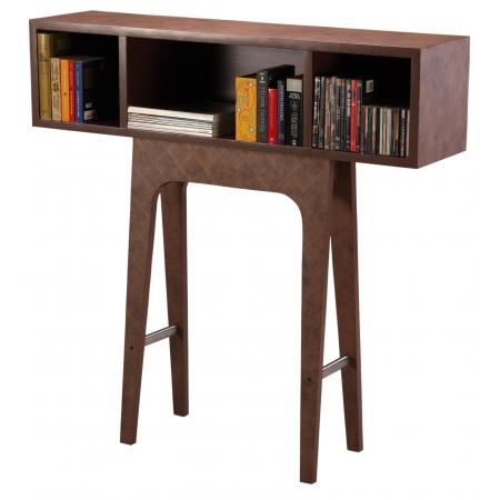 Standalone Shelf - MDF & Leather Laminate