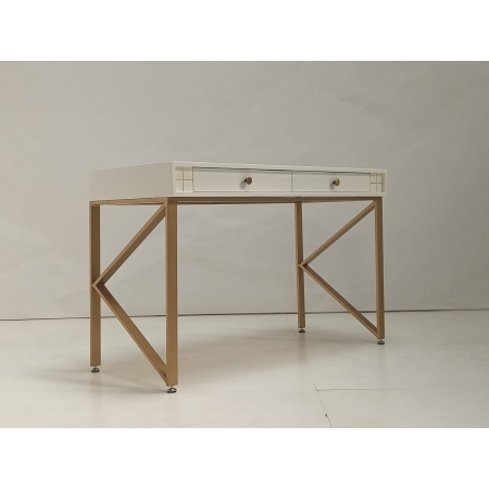 Mr Gold Computer Table - Small