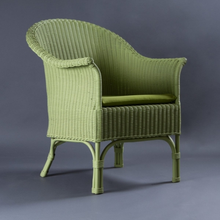 Gremlin Bamboo / Cane Chair - Cane Seat & Backrest With Bamboo Frame Legs